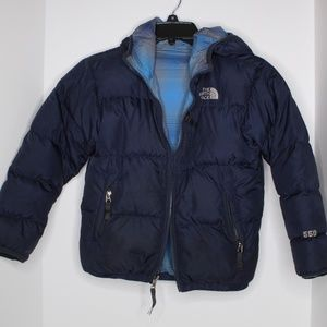 Boys The North Face Reversible Puffer Jacket S/P